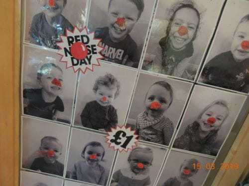 Red Nose Day at Epping Day Nursery and Preschool