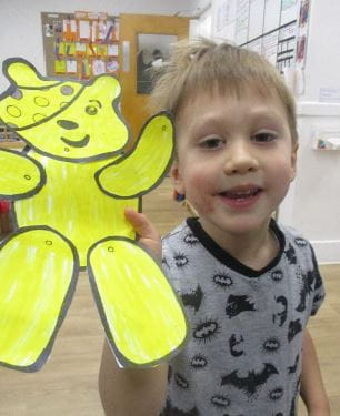 London nursery supports Children in Need