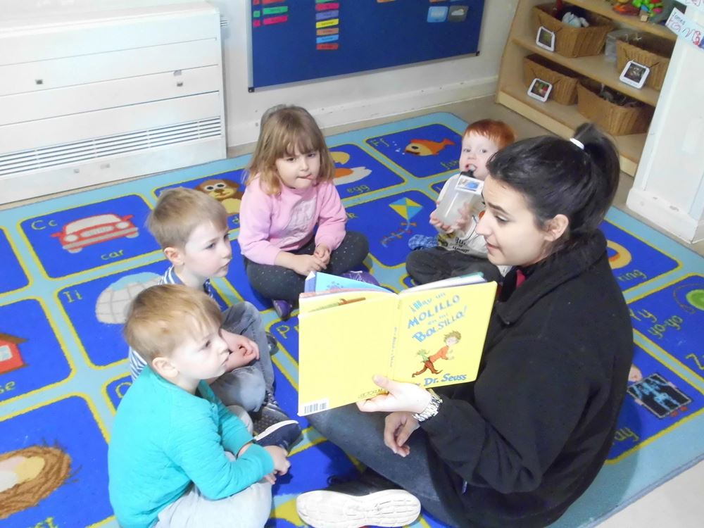 Oxford nursery children embrace language learning