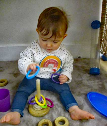 Liverpool nursery children embrace mathematical play