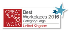 Great place to work - Best Workplaces 2016