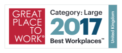 Great place to work - Best Workplaces 2017