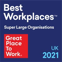 Great place to work - Best Workplaces UK 2019