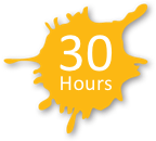 30 Hours Graphic