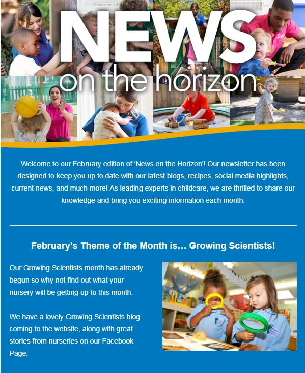 Bright Horizons Newsletter