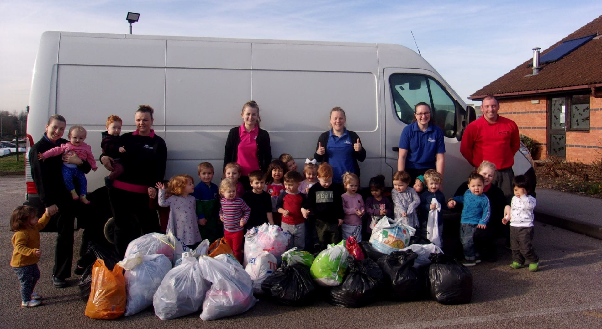 Derbyshire nursery organises recycling drive for charity