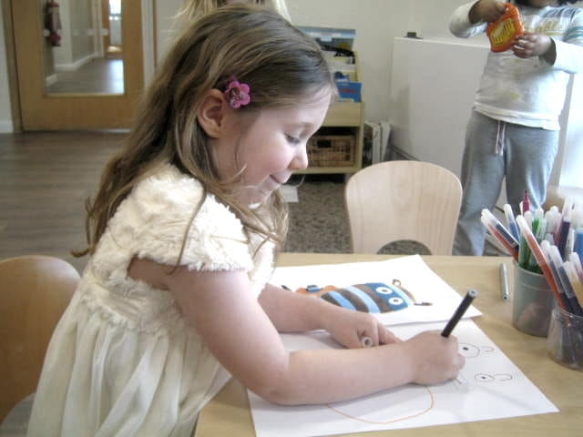 Growing Artists at North Cheam Nursery and Preschool