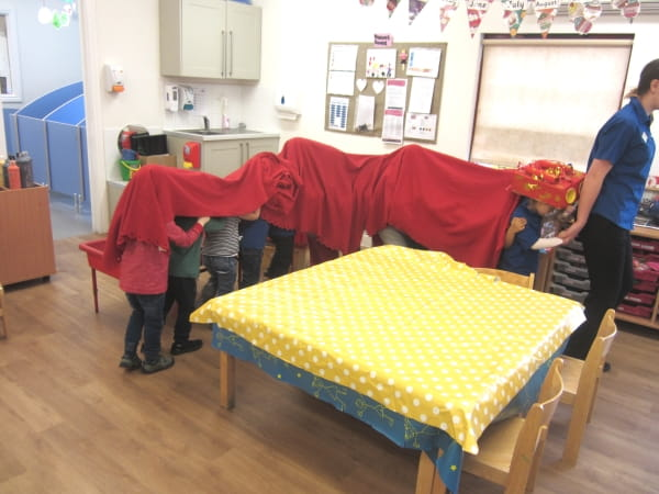 Chinese New Year at Elvetham Heath Nursery and Preschool