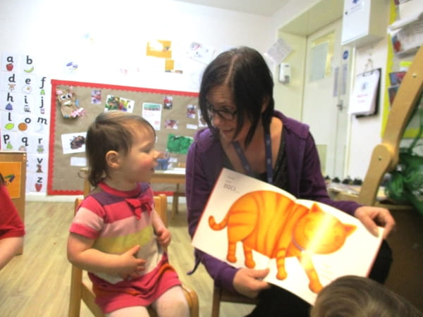 National Storytelling Week at King's Cottage Day Nursery and Preschool