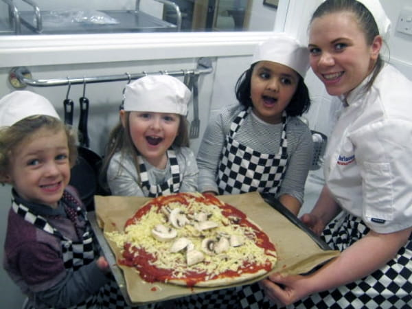 National Pizza Day at North Cheam Nursery and Preschool