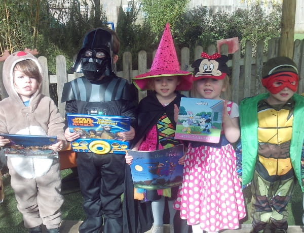 World Book Day at Hinchley Wood Day Nursery and Preschool