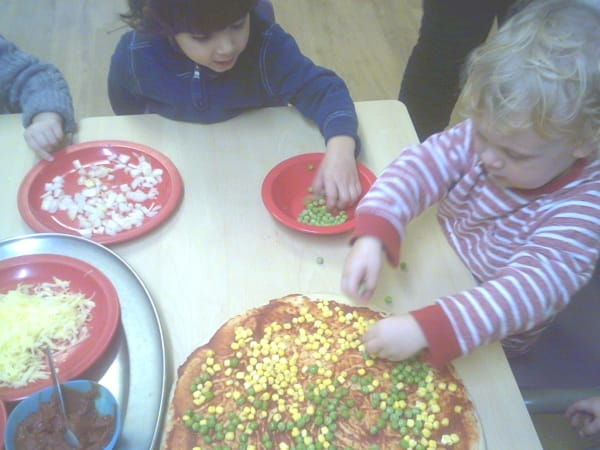 Creative Cooks at Horseshoe Day Nursery and Preschool in Esher, Surrey