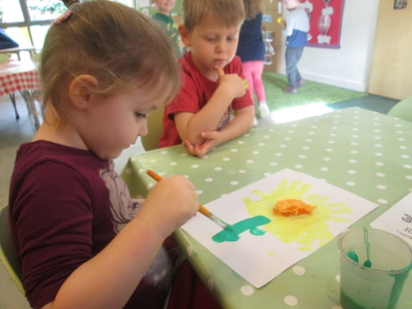 St. David's Day at Summerfields Day Nursery and Preschool, Wilmslow