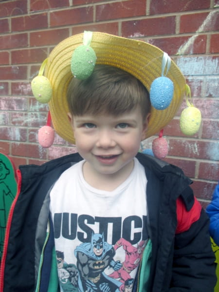 Crewe Day Nursery and Preschool make Easter bonnets
