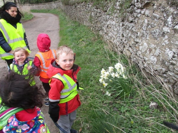 Spring at Morton Mains Day Nursery and Preschool