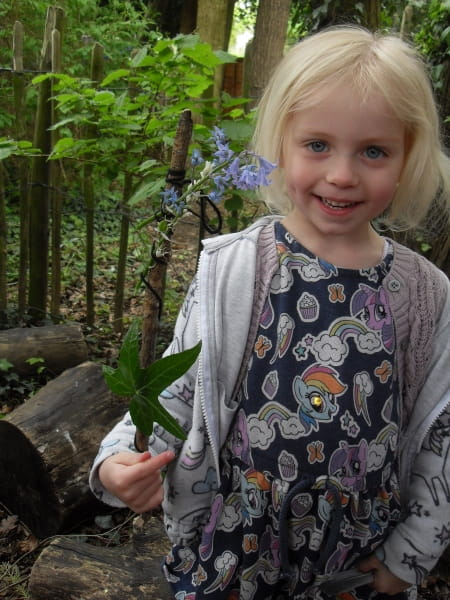 Clairmont Day Nursery and Preschool take part in Forest School