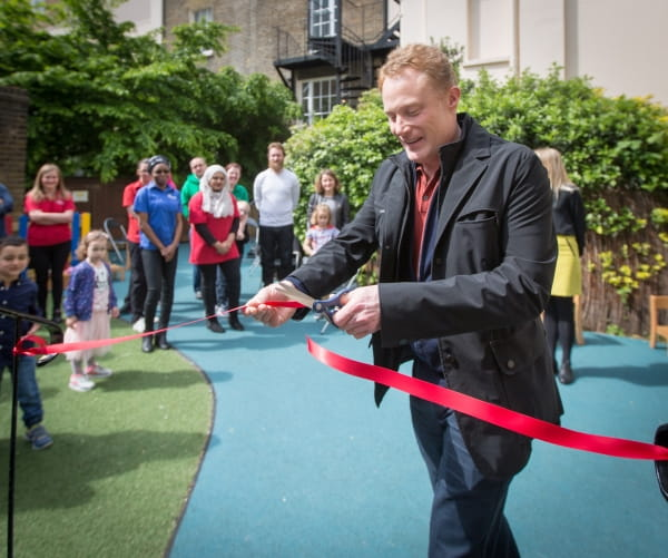 Regents Park Day Nursery and Preschool is relaunched by Bright Horizons' managing director, James Tugendhat