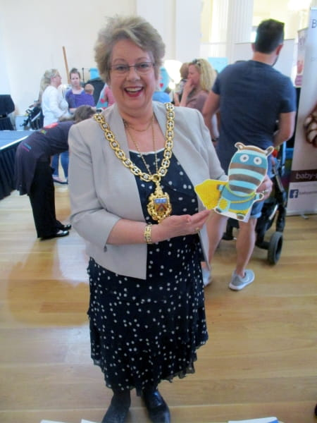 Rosehill Day Nursery and Preschool staff attend local baby show