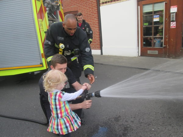 The Fire Brigade visit Wandsworth Day Nursery and Preschool