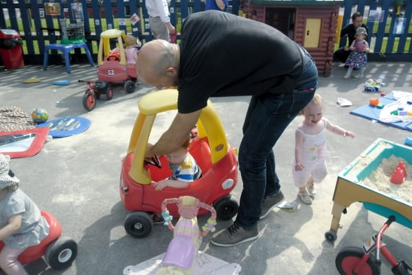 Bumpers Day Nursery and Preschool celebrate Father's Day
