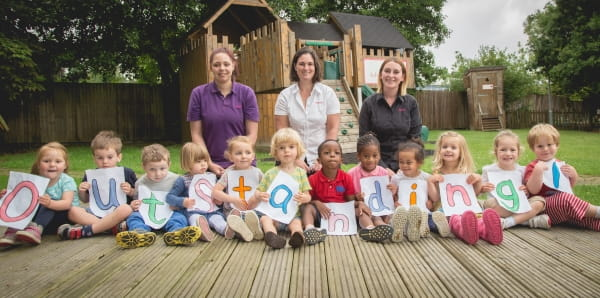 Asquith Caterham Day Nursery and Pre-school is rated Outstanding by Ofsted