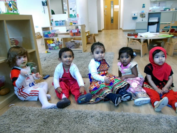 East India Nursery holds a multicultural day