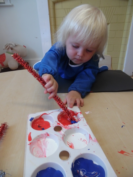 Englefield Green Day Nursery and Preschool learns about Independence Day