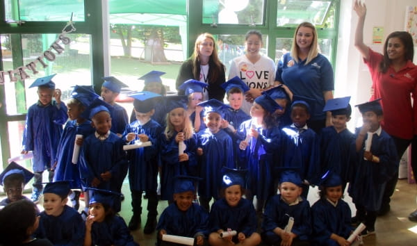 Bramingham Day Nursery and Preschool holds a graduation ceremony for its school leavers