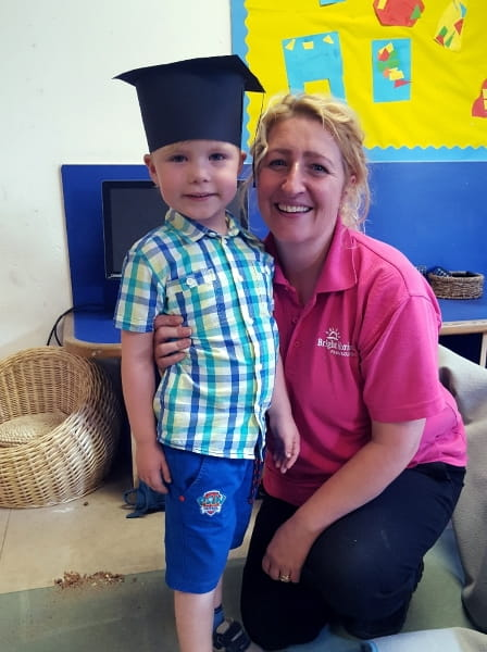 Broadgreen Day Nursery and Preschool hold a graduation ceremony for school leavers