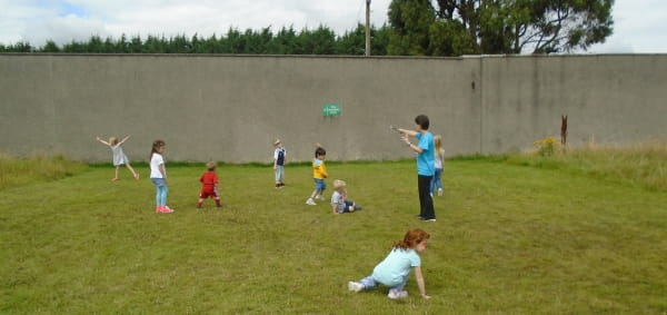 First Class Day Nursery and Preschool take part in Active Athletes activities
