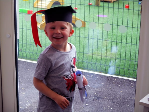 Rosehill Day Nursery and Preschool hold a graduation ceremony for their school leavers