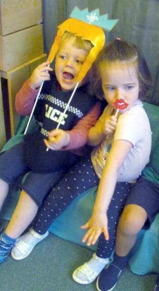 Aberdeen nursery children celebrate World Photography Day