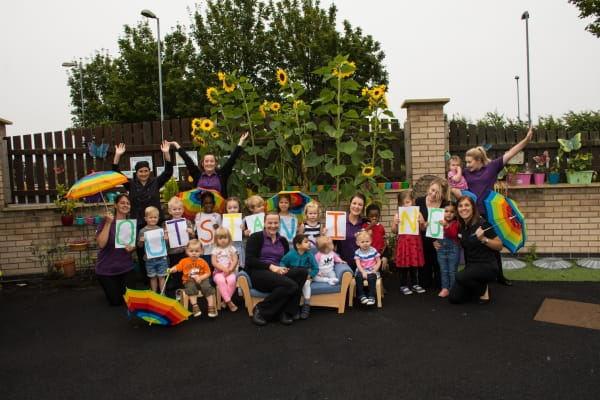 Asquith Kingswood Day Nursery and Preschool celebrate being an Outstanding nursery