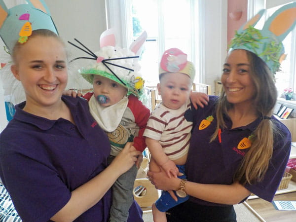 Enfield nursery children celebrate Easter in traditional style