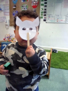 Crewe nursery children act out famous story