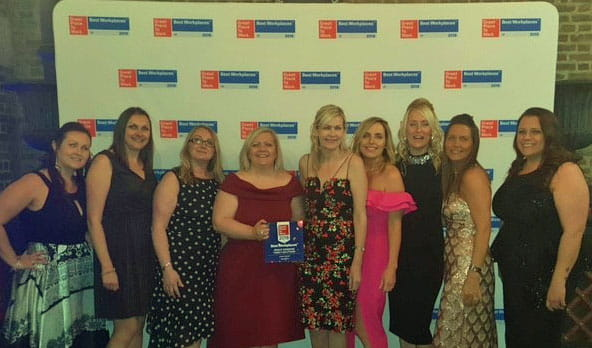 Bright Horizons recognised as one of the UK's 'Best Workplaces' for the 13th consecutive year