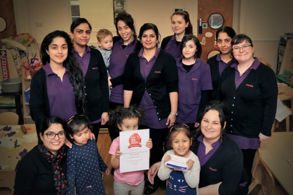 Parents rate Hounslow nursery as one of Top 20 nurseries in London for third consecutive year