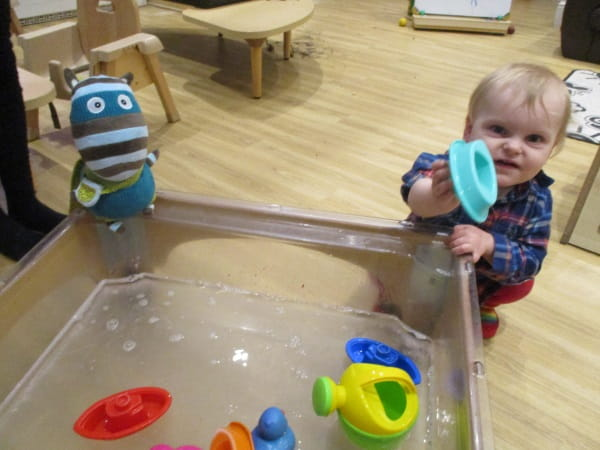 Bright Horizons Basingstoke Waterplay press release