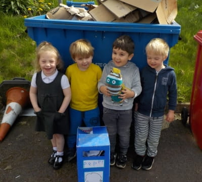 Astley children learn more about recycling