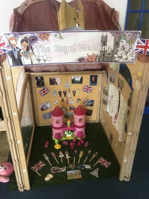 Enfield children embrace Royal Wedding fever