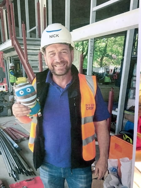 Candy Floss teams up with TV star Nick Knowles