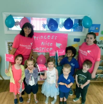 Englefield Green children raise money for local hospice