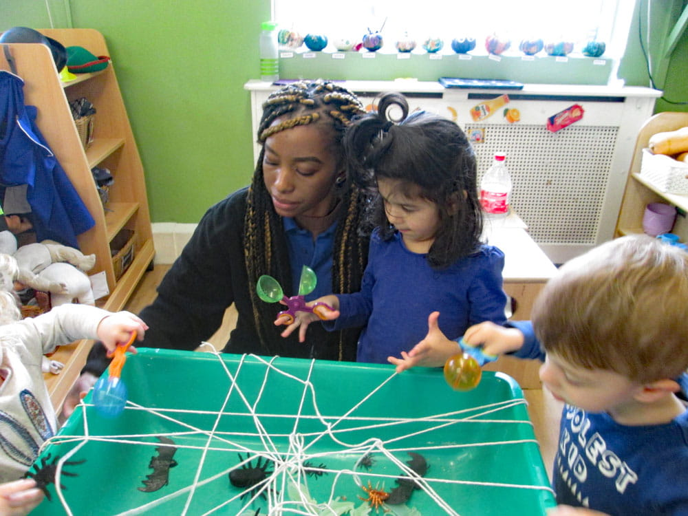 Leeds nursery children celebrate Halloween