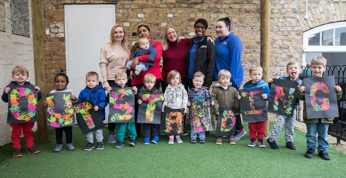 Islington nursery receives 'Outstanding' rating from Ofsted
