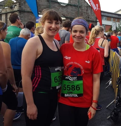 Rosie Cruickshank completes half-marathon for Bright Horizons Foundation for Children