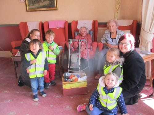 Harvest Festival at Bumpers Nursery