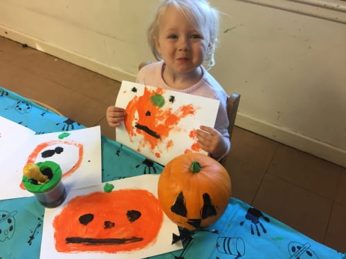 Halloween at Callands Nursery and Preschool