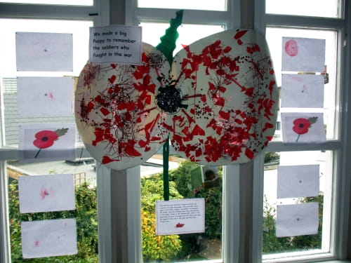 Remembrance Day at Teddies Chiswick