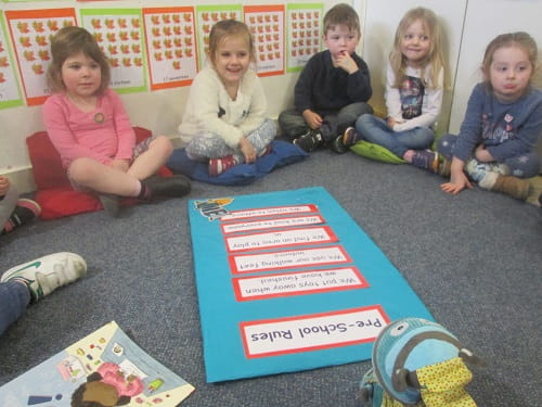 Anti-bullying discussion at Crewe nursery