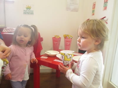 The Circus comes to Crewe Nursery and Preschool